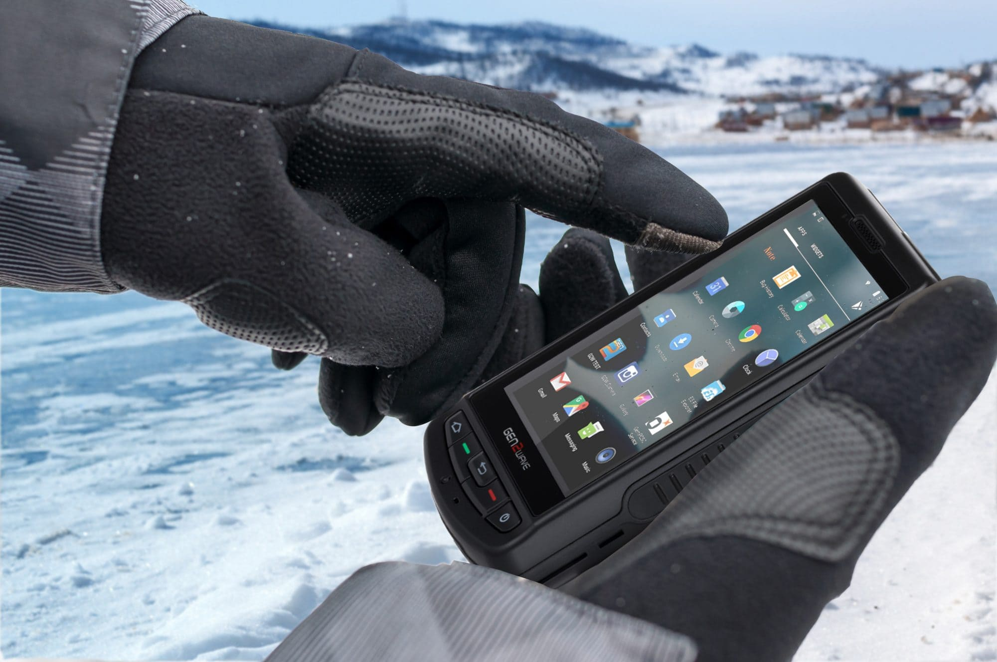 Smartphone Robusto Athesi RP1600